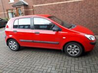 Hyundai getz for sale. Mot'd feb 19. Cheap first time car