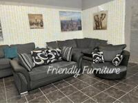 Shannon 3 seater sofa with swivel chair