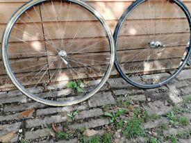 Wheels for road bike, Campagnolo/Martano tubulars