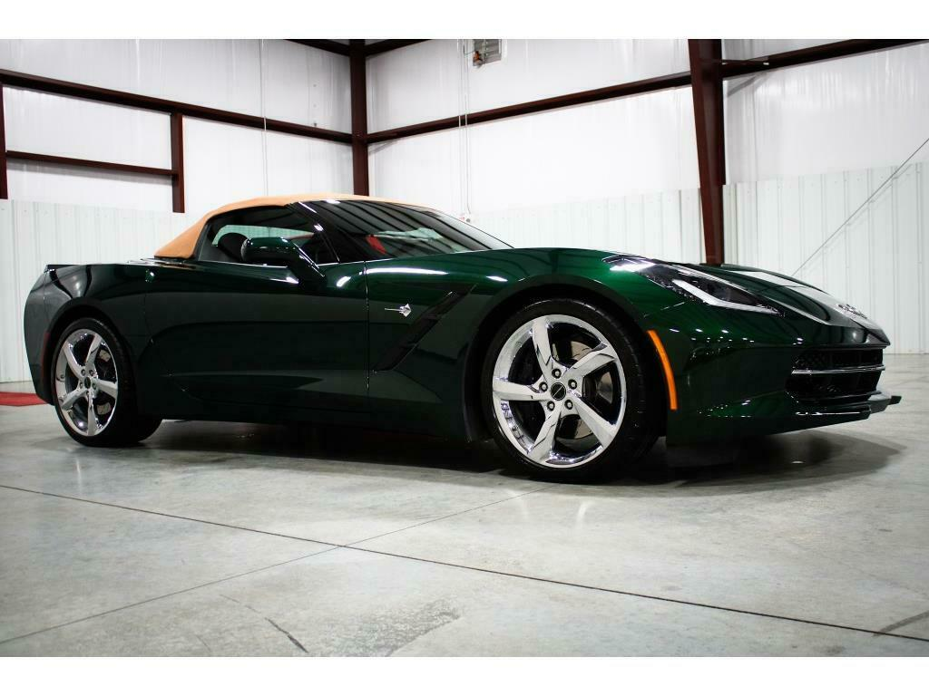 2014 Green Chevrolet Corvette Convertible 3LT | C7 Corvette Photo 6