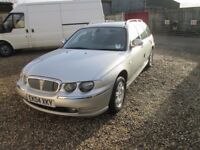 Rover 75 CDT - FOR SPARES OR REPAIRS - Diesel 2L Tourer, '04 Reg, 2 Owners, History, March MOT,