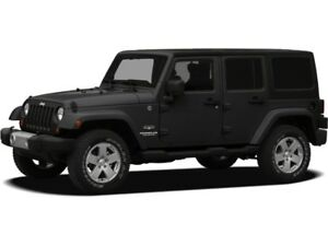 2012 Jeep Wrangler Unlimited Sahara Low,Low Km's, Leather,2 Tops