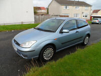 FORD FOCUS 1.6 FLIGHT 05 PLATE 2005 MOT MARCH 2017