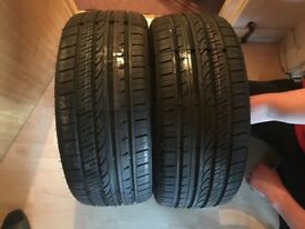 2 brand new tyres r18