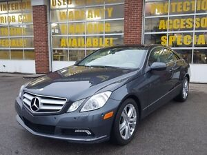 2010 Mercedes-Benz E-Class E350 Coupe w/Panoramic