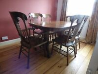 Dining Table and 6 Chairs plus matching Sideboard