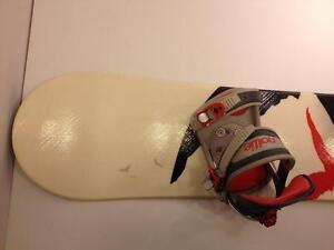 Nollie Prey snowboard & bindings, 148 cm