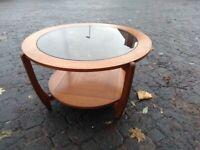 Wood Astro Table - MCM Vintage Retro Mid Century Modern coffee table