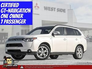 2014 Mitsubishi Outlander GT-4WD-3.0L-Satellite Radio-Navigation