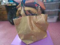 Brand New Gold Bag