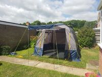 Driveaway Motorhome Awning - complete set