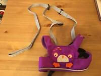 NEED GONE ASAP MOVING HOME LIKE NEW Toddlepak Reins Purple Ollie the owl
