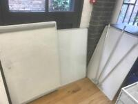 3 office whiteboards