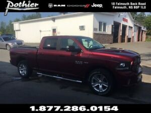 2017 Ram 1500 Sport | LEATHER | REAR CAMERA | SUNROOF |
