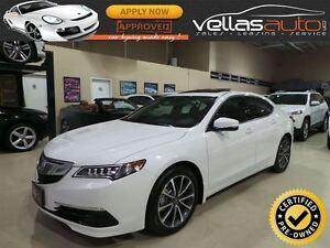 2015 Acura TLX V6**SH-AWD**ELITE**TECHNOLOGY PKG**PEARL WHITE**