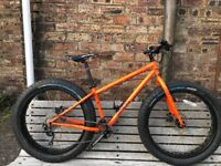 Genesis Caribou Fat Bike, Small Frame