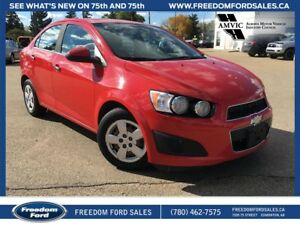 2012 Chevrolet Sonic Cloth Seats, Air Conditioning