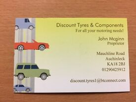 Level 2 Tyre fitter required