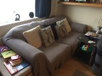(Green or Grey) Sofa Bed £150