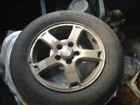 Summer tires brand new