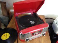 Vinyl record player gpo cd / USB