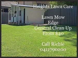 Heights Lawn Care Adamstown Heights Newcastle Area Preview