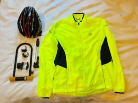 Cycling Accessories - Helmet, Bike Lock, Lights, High-vis Jacket, Pump