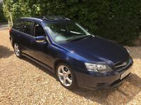 2004 SUBARU LEGACY SE 2.5 AUTOMATIC ESTATE 5DR BLUE