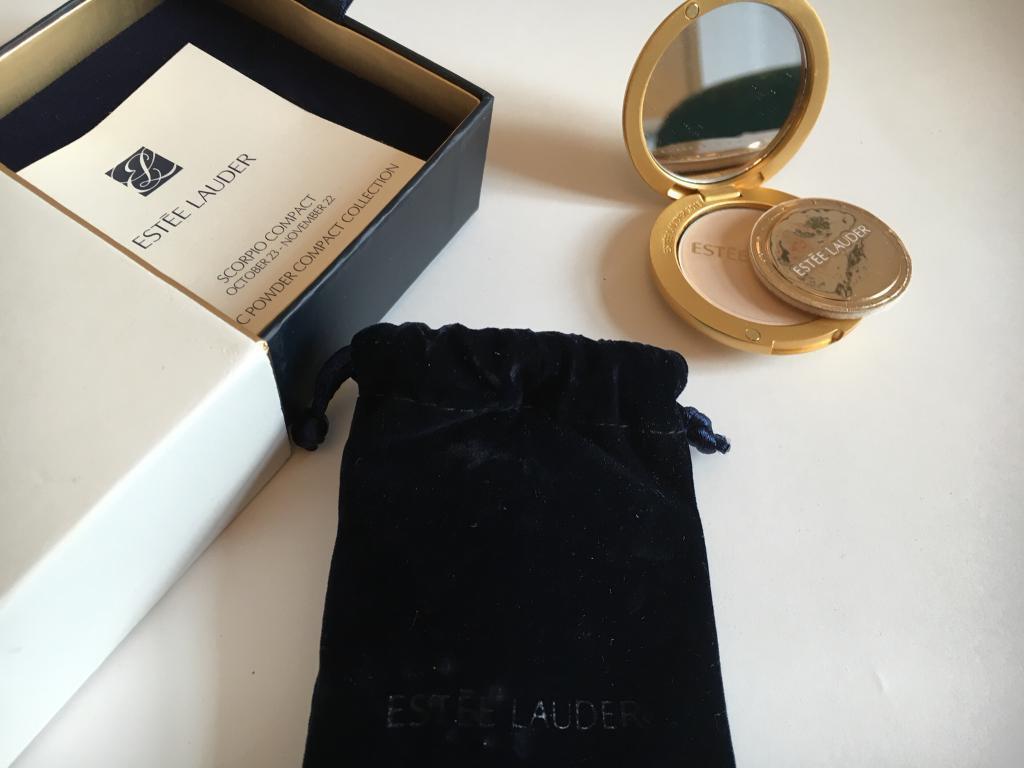 Estée Lauder brand new, boxed, vintage 'Scorpio Compact'