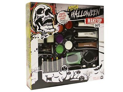Halloween Mega Party Face Body Paint & Special Effects FX  Make Up Set R01009 - Special Effects Halloween Party