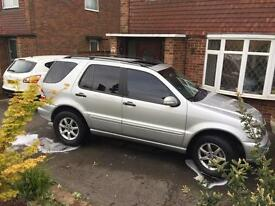 ML320 4x4 with 7 seats 103k miles with history