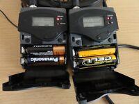 SENNHEISER EW 100 G2 RADIO MIC CAMERA KIT - transmitter + receiver+Headphones