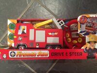 Fireman Sam drive and steer