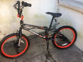 BMX 'Python' Bike & Accessories Hardly Used Just Needs A Clean.. Location Canton CF5 1QL...READ AD!