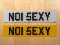 NO1 5EXY NUMBER 1 ONE SEXY CHERISHED PRIVATE PERSONALISED CAR REGISTRATION MARK NUMBER PLATE