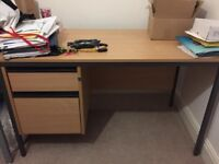 Office table/desk with draws