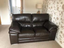 Leather 2 & 3 piece Sofa