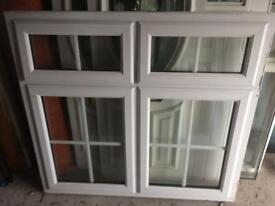 Window with Georgian Bar glass, ex display and in excellent condition, sizes 1365 wide x 1280, £110.