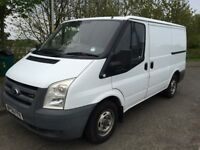 2007 56 PLATE FORD TRANSIT T260 2.2 SWB LOW ROOF ONE PREVIOUS KEEPER FULL SERVICE WHEN MOTED NO VAT