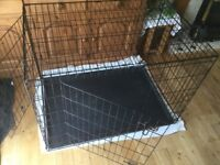 Large Dog Crate / Cage. W108cm x D71cm x H76cm