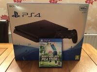 Sony PS4 500gb with Games