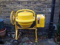 Clarke Contractor Electric Cement Mixer