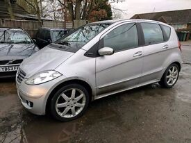 MERCEDES A170 AVANTGARDE SE AUTO - FSH - HPI CLEAR - LOVELY SPEC