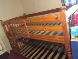Pine Bunk beds (dismantled)