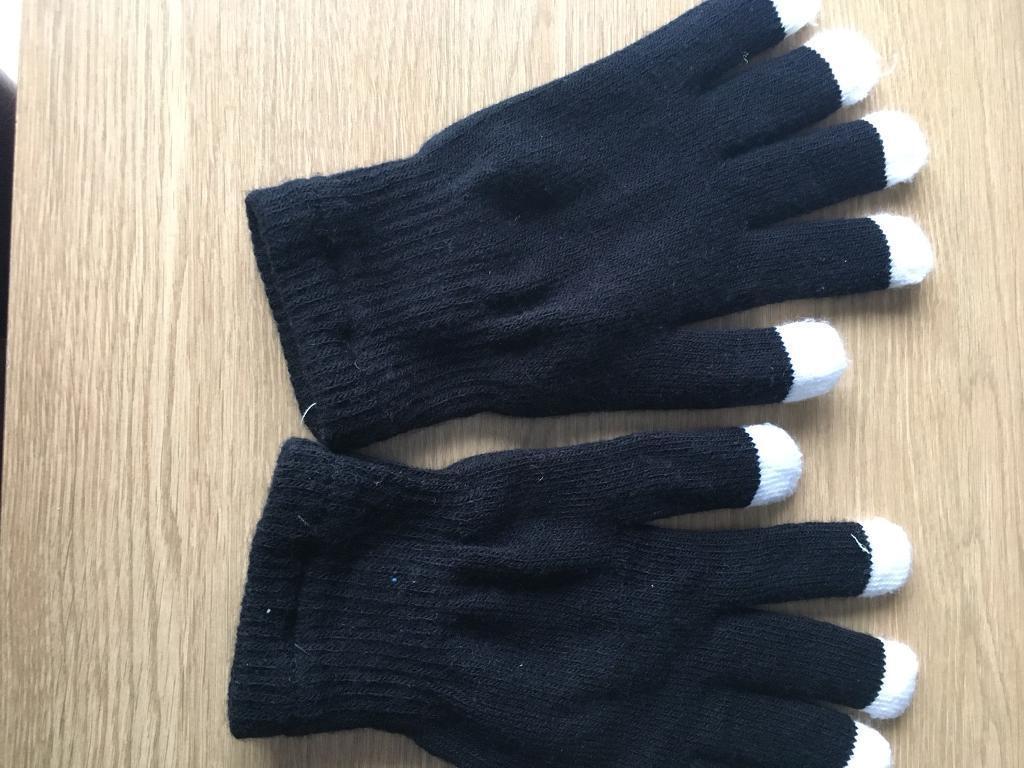 Multi colour flashing gloves
