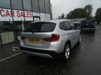 LEATHER! 2010 59 BMW X1 2.0 XDRIVE18D SE 5D 141 BHP *** GUARANTEED FINANCE **** PART EX WELCOME ****