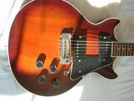 Gordon Smith Gypsy II electric guitar - Mid '80s - Brownburst