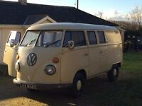 1965 VW RHD Splitscreen Campervan MOT Till End January 2018