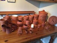 Henry Watson pottery collection