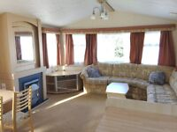 Cheap static caravan for sale at Pease Bay. Scotland. northumberland nearby. Next to sandy beach.